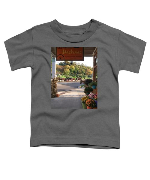 Autumn Morning On Mackinac Island Toddler T-Shirt