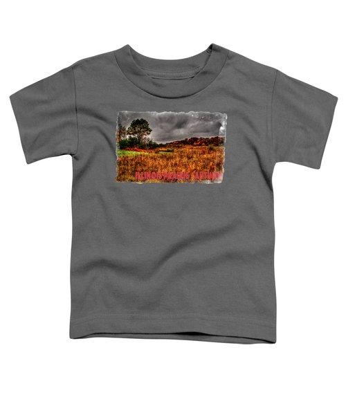 Autumn Near Woodstock Illinois Toddler T-Shirt