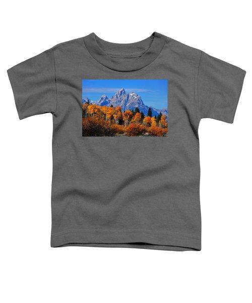 Autumn Peak Beneath The Peaks Toddler T-Shirt
