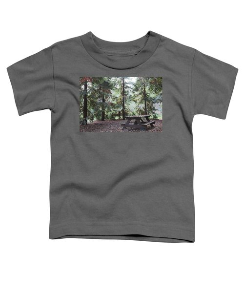 Autumn Picnic In The Woods  Toddler T-Shirt