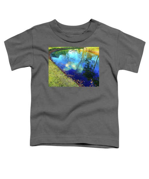 Autumn Reflection Pond Toddler T-Shirt
