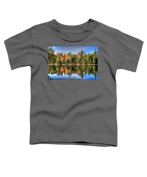 Autumn Reflections Of Maine Toddler T-Shirt