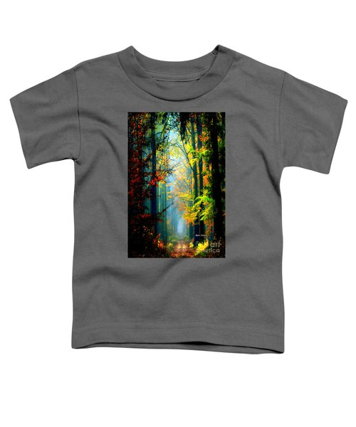 Autumn Trails In Georgia Toddler T-Shirt