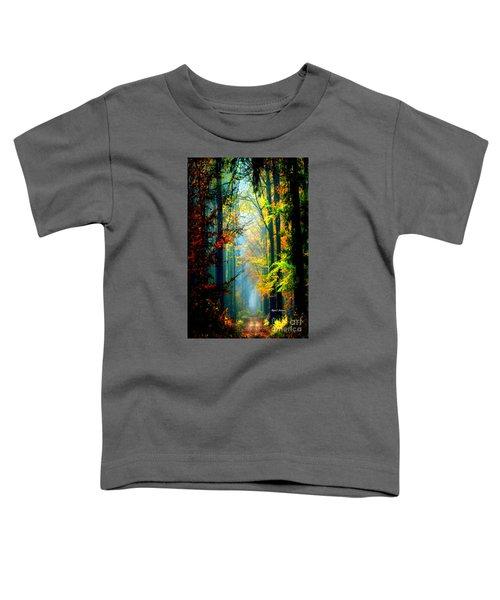 Autumn Trails In Georgia Toddler T-Shirt