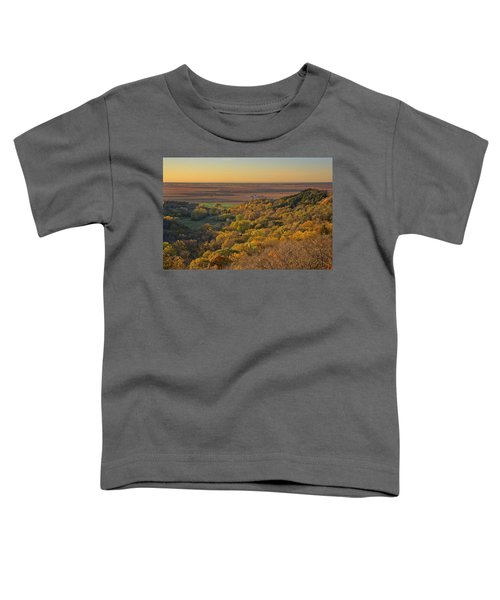 Autumn View At Waubonsie State Park Toddler T-Shirt