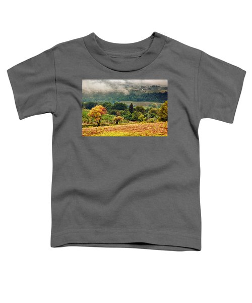 Autumnal Hills Toddler T-Shirt by Silvia Ganora