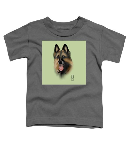 Toddler T-Shirt featuring the digital art Axle by Gerry Morgan