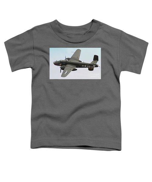 B-25 Mitchell Bomber Aircraft Toddler T-Shirt