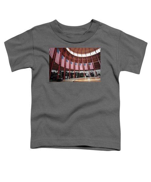 B And O Museum Roundhouse In Baltimore Maryland Toddler T-Shirt