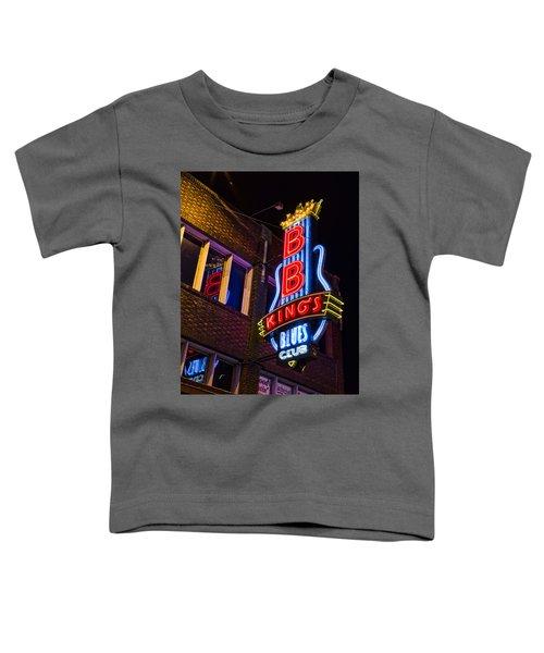 B B Kings On Beale Street Toddler T-Shirt