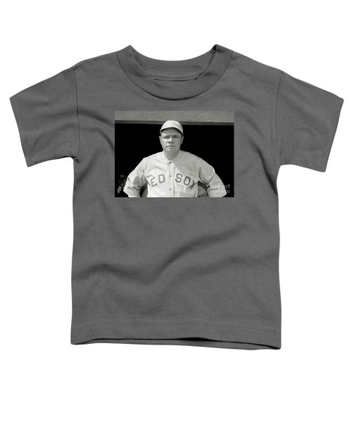 Babe Ruth Red Sox Toddler T-Shirt