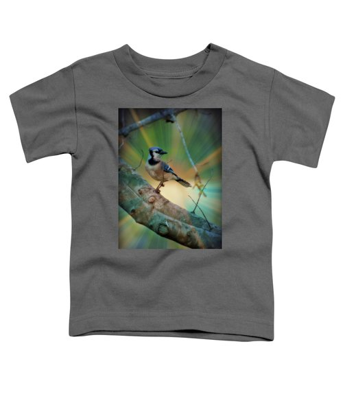 Baby Blue Toddler T-Shirt by Trish Tritz