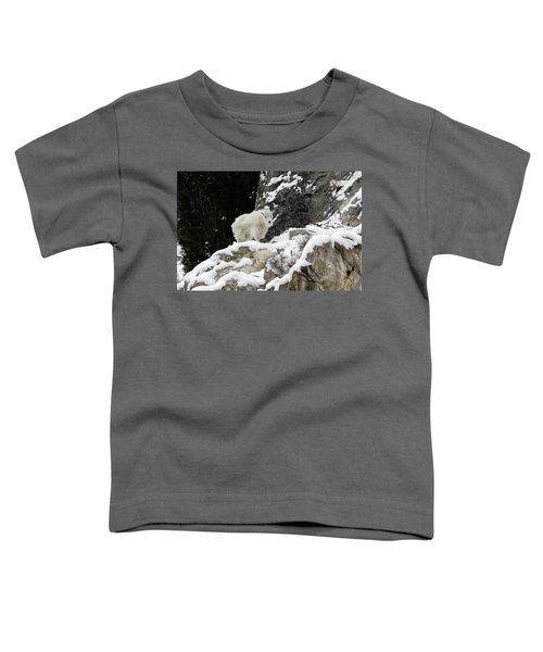Baby Mountain Goat Toddler T-Shirt