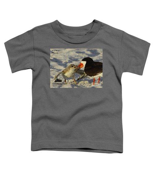 Baby Skimmer Feeding Toddler T-Shirt
