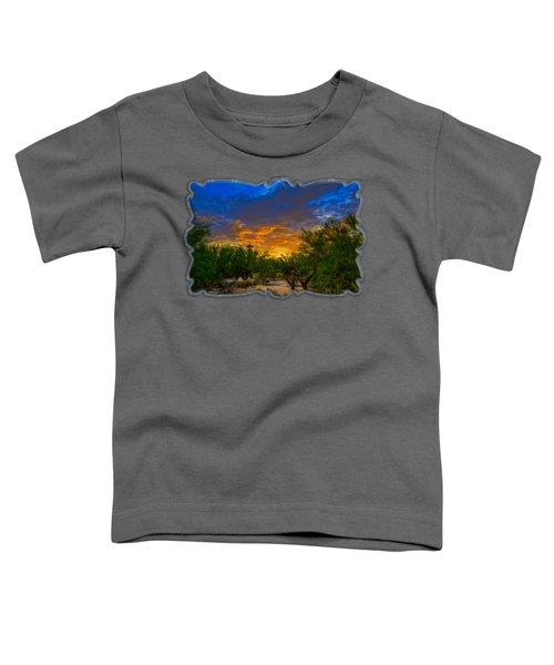 Back Alley Sunset H35 Toddler T-Shirt