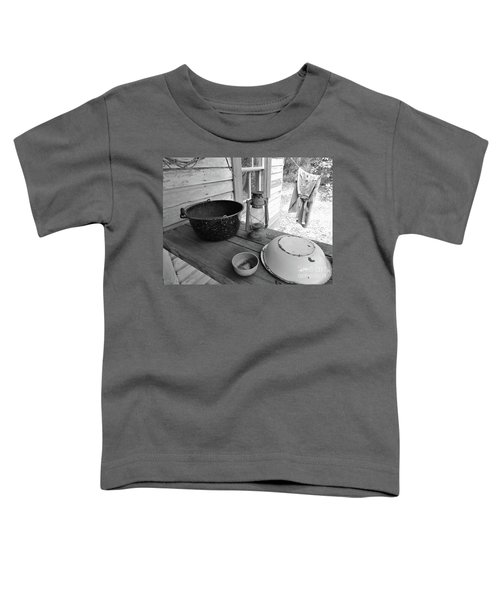 Back In Time B - W Toddler T-Shirt