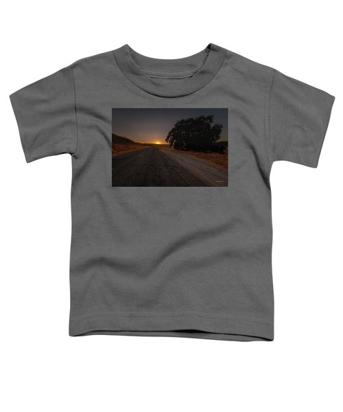 Back Road From Bradley Toddler T-Shirt