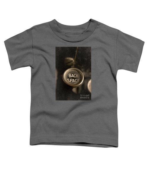 Back Space Toddler T-Shirt