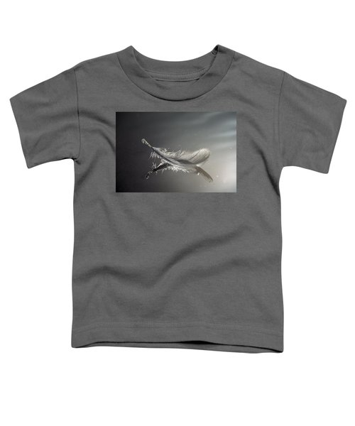 Backlit Feather Toddler T-Shirt