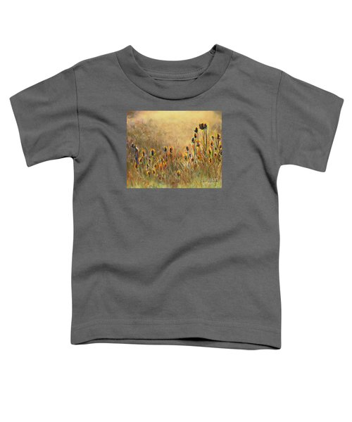 Backlit Thistle Toddler T-Shirt