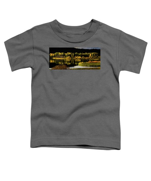 Backwater Blacks At Oxbow Bend Toddler T-Shirt