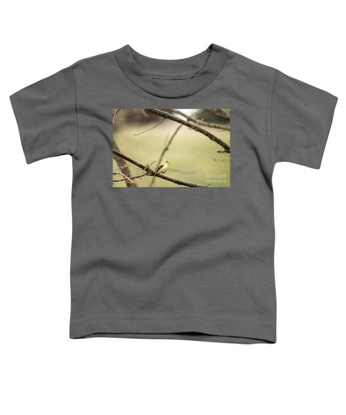 Backyard Yellow Toddler T-Shirt