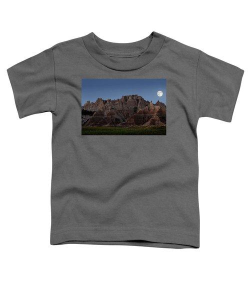 Badlands Moon Rising Toddler T-Shirt