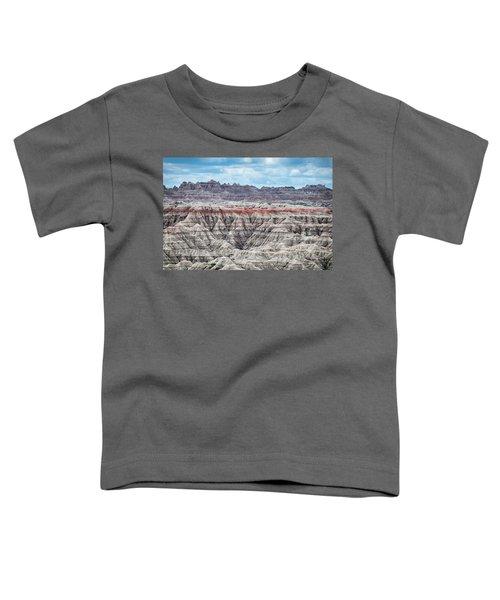 Badlands National Park Vista Toddler T-Shirt