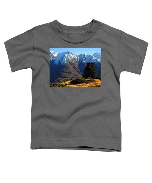 Baettlihorn In Valais, Switzerland Toddler T-Shirt
