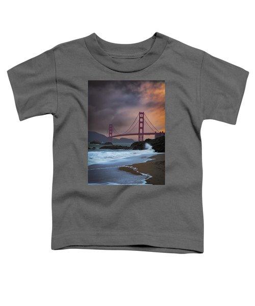 Baker's Beach Toddler T-Shirt