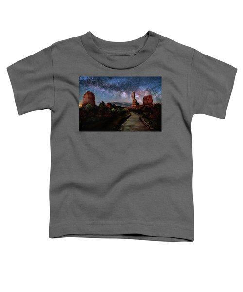 Balanced Rock Milky Way Toddler T-Shirt