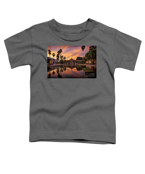 Balboa Park Botanical Building Sunset Toddler T-Shirt