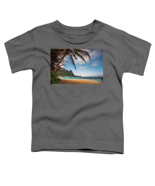 Bali Hai Tunnels Beach Haena Kauai Hawaii Toddler T-Shirt