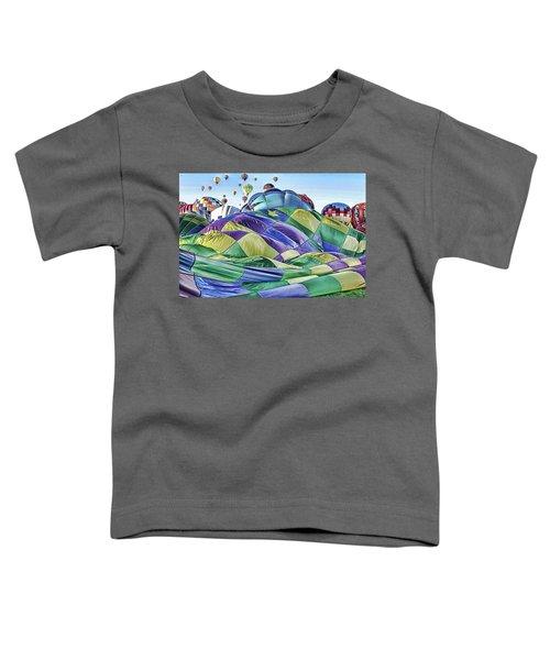 Ballooning Waves Toddler T-Shirt