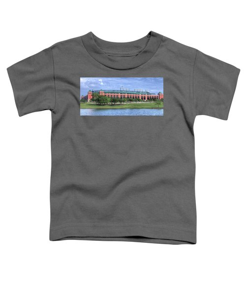 Ballpark In Arlington Now Globe Life Park Toddler T-Shirt
