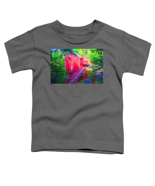 Balmoral Grist Mill Museum Toddler T-Shirt