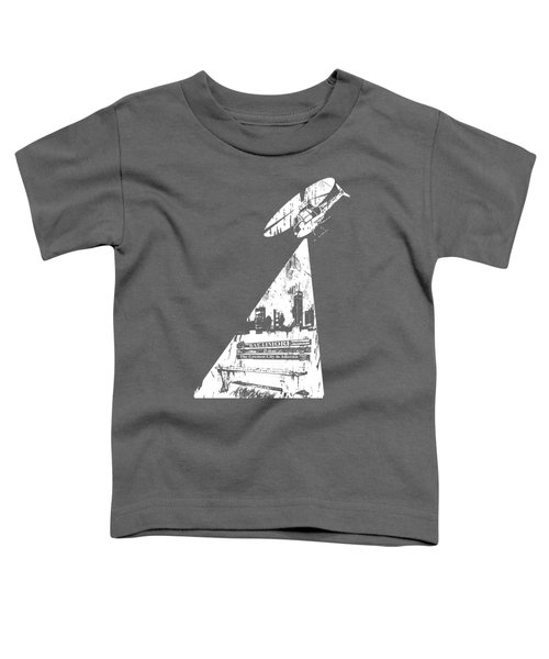 Baltimore Helicopter Toddler T-Shirt by Brendan Gilligan