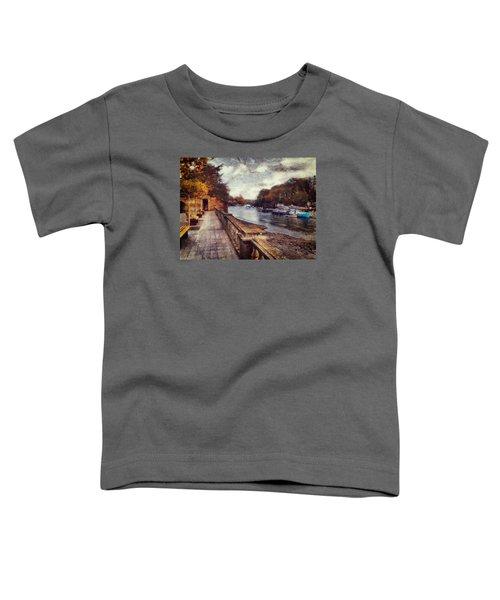 Balustrades And Boats Toddler T-Shirt
