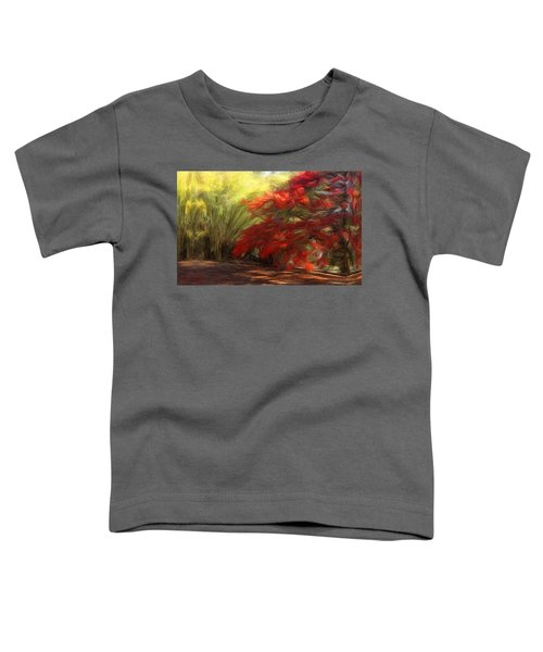 Bamboo And The Flamboyant Toddler T-Shirt