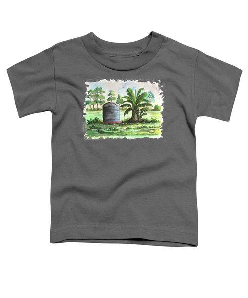 Banana And Tank Toddler T-Shirt