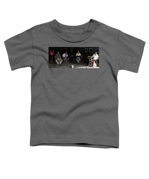 Band With Pink Girl Toddler T-Shirt