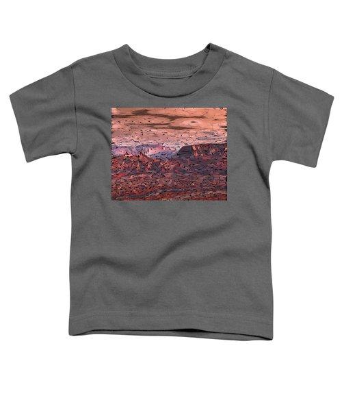 Banded Canyon Abstract Toddler T-Shirt