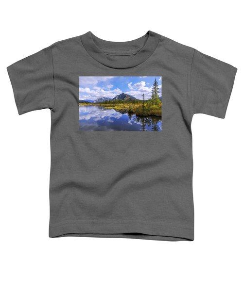 Banff Reflection Toddler T-Shirt