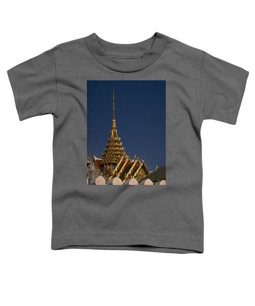 Toddler T-Shirt featuring the photograph Bangkok Grand Palace by Travel Pics
