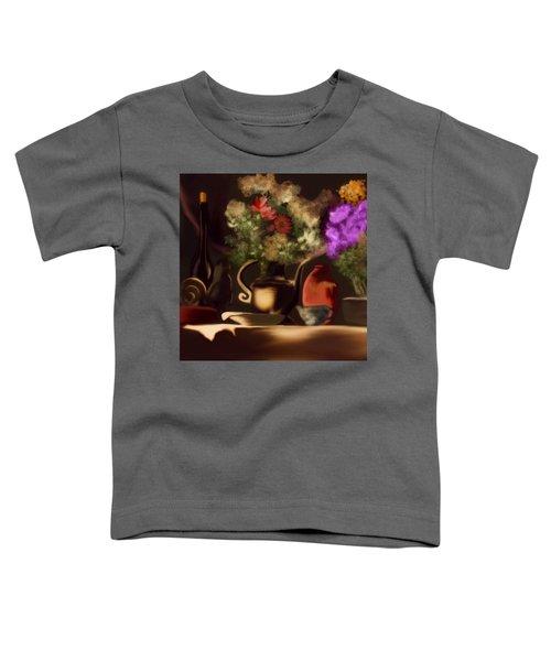 Toddler T-Shirt featuring the digital art Banquet  by Gerry Morgan