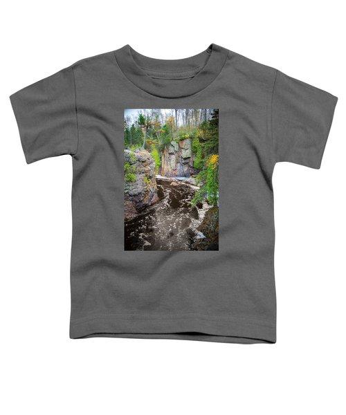 Baptism River In Tettegouche State Park Mn Toddler T-Shirt