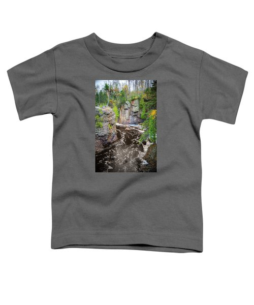 Baptism River In Tettegouche State Park Mn Toddler T-Shirt