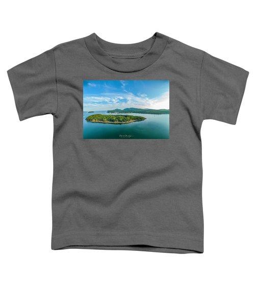 Bar Island, Bar Harbor  Toddler T-Shirt