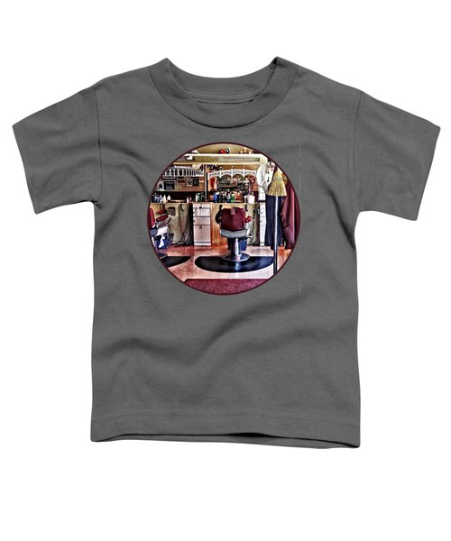 Barbershop With Coat Rack Toddler T-Shirt