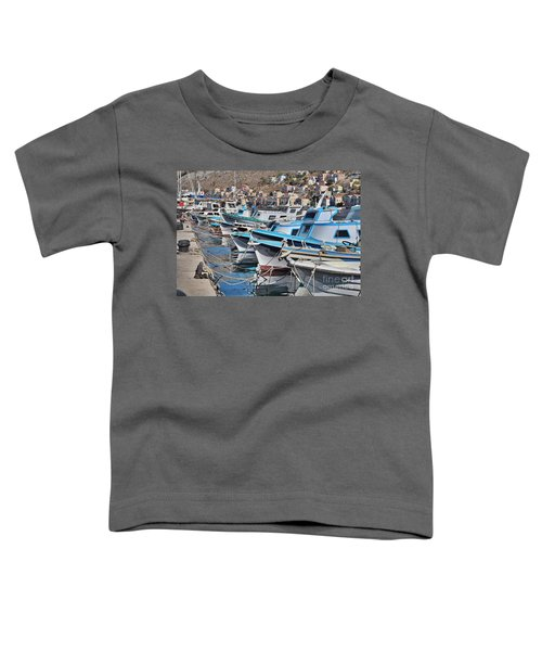 Harbour Of Simi Toddler T-Shirt